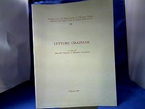 Letture Oraziane. Pubblicazioni del Dipartimento di Filologia: Gigante, Marcello und