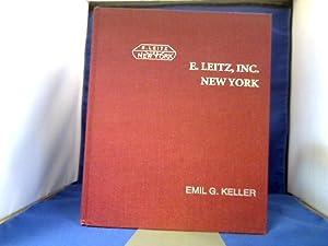 E. Leitz, Inc., New York. The Odyssey: Keller, Emil G.
