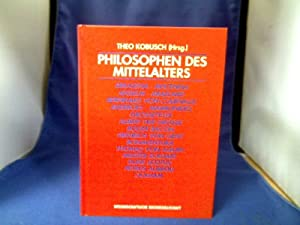 Philosophen des Mittelalters. Eine Einführung.: Kobusch (Hrsg.), Theo.