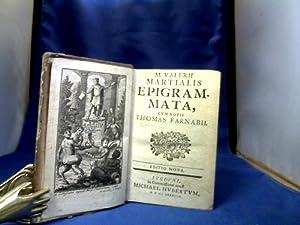 M. Valerii Martialis Epigrammata, cum Notis Thomas: Martial, M. Valerius.