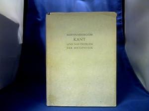 Kant und das Problem der Metaphysik.: Heidegger, Martin.