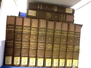 Oeuvres de Descartes. Publiees par Charles Adam: Descartes, René.