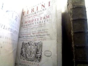 R. P. Jacobi Tirini. In S. Scripturam: Tirinus, Jakob.