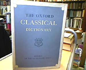 The Oxford Classical Dictionary.