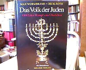 Das Volk der Juden. 400 Jahre Kampf: Wurmbrand, Max.