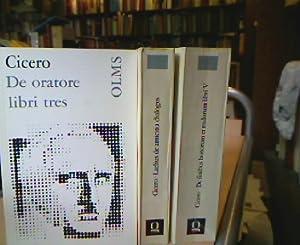 M. Tulli Ciceronis De oratore libri tres,: Cicero, Marcus Tullius.