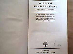 The Complete Works. A New Edition, edited: Shakespeare, William.