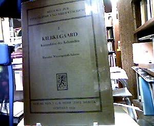 Kierkegaard. Konstruktion des Ästhetischen. (= Beiträge zur: Adorno, Theodor Wiesengrund.