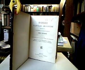 Babrii fabulae aesopeae recognovit prolegomenis et indicibus: Babrius und Otto
