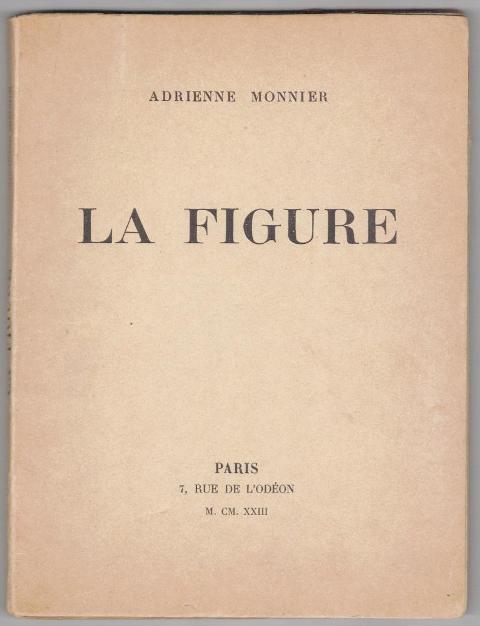 La Figure - Monnier, Adrienne