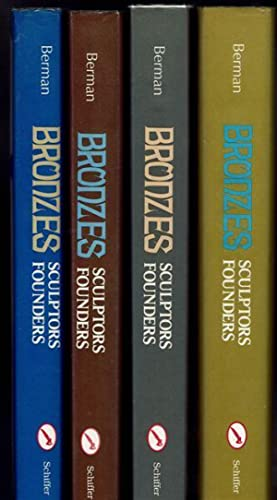 Bronzes: Sculptors & Founders 1800-1930. A Mixed Set of Four Volumes with a separate Master Index