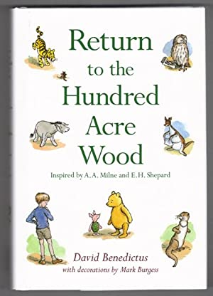 Return to the Hundred Acre Wood in: Benedictus, David