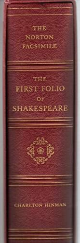 The Norton Facsimile. The First Folio of Shakespeare
