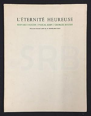 Bernard Faucon, Pascal Kern, Georges Rousse. L'éternité: MICHELENA (J.M), ROSNET