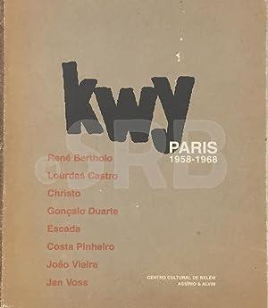 Kwy. Paris 1958-1968. René Bertholo, Lourdes Castro,: VEIGA (M.), ACCIAIUOLI