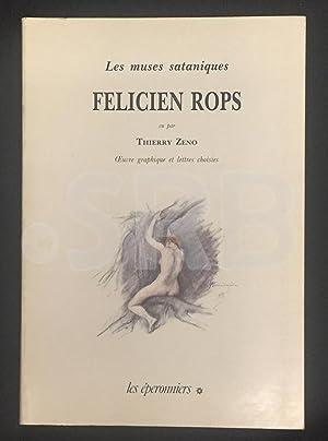 Les muses sataniques. Félicien Rops. Oeuvre graphique: ROPS (Félicien).