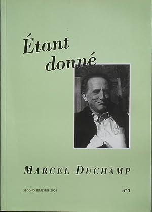 Etant donné. Marcel Duchamp. Dossier Duchamp et