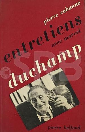 Entetiens avec Marcel Duchamp.: CABANNE (P.).