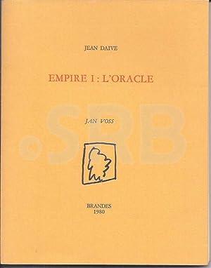 Empire I : L'oracle. Illustrations de Jan: DAIVE (J.).