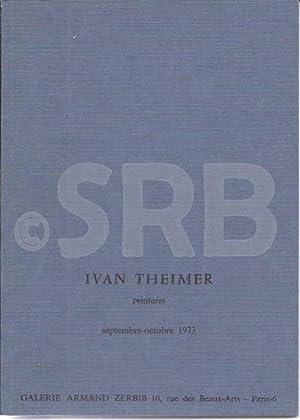 Ivan Theimer, peintures.