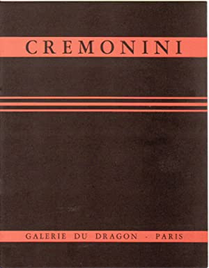 Leonardo Cremonini.: CLARAC-SEROU (M.).