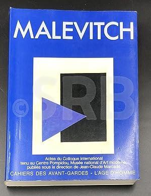 Malévitch, 1878-1978.: MARCADE (J.).