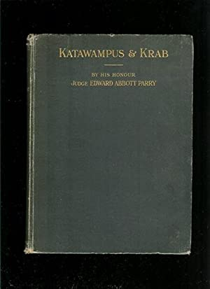 Katawampus. Its Treatment and Cure and the: Parry, E A