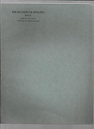 A Monograph on British Dendroid Graptolites Part: Bulman, O M