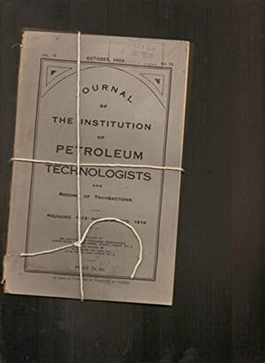 Journal of the Institution of Petroleum technologists