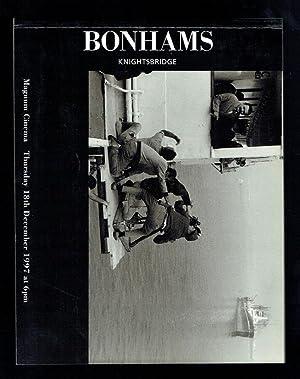 Magnum Cinema 18th December 1997: Bonhams,