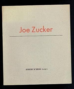 Joe Zucker. March 7-28 1987: Zucker, Joe; Liebmann,