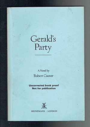 Gerald's Party. Uncorrected Proof: Coover, Robert
