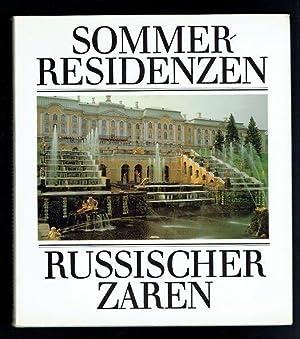 Sommerresidenzen russischer Zaren: Hallmann, Gerhard