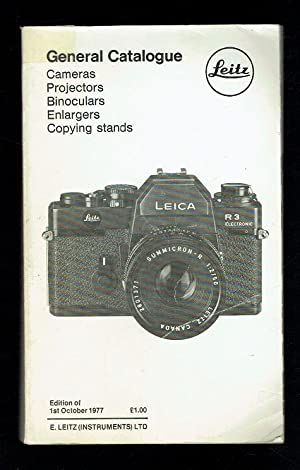 Leitz General Catalogue of Photographic Equipment. Edition: Leitz,