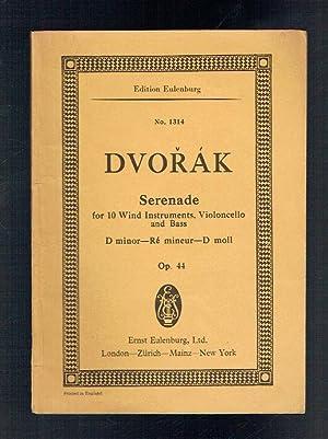 Serenade D minor for Wind Instruments Op: Dvorak, Anton