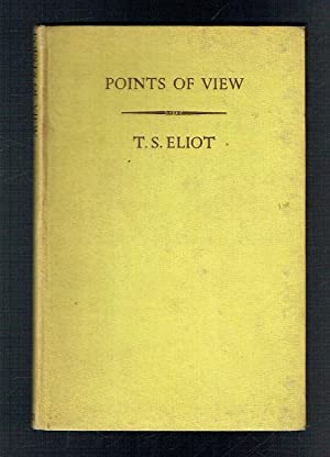 Points of View: Eliot, T S