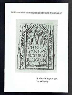 William Blake. Independence and Innovation. 18 May: Hamlyn, Robin