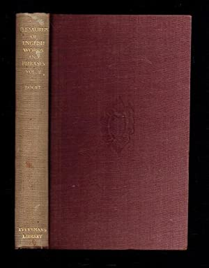 Roget's Thesaurus of English Words and Phrases: Roget, Peter
