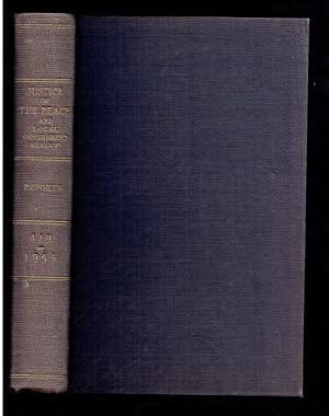 Justice of the Peace and Local Government: Bridgman, G F