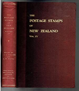 The Postage Stamps of New Zealand Vol: Collins, R J