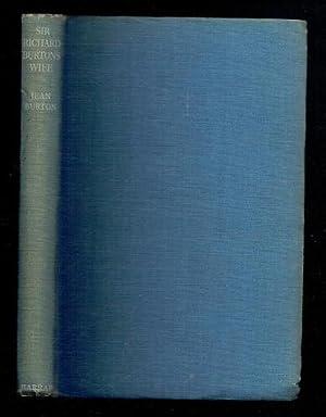 Sir Richard Burton's Wife: Burton, Jean