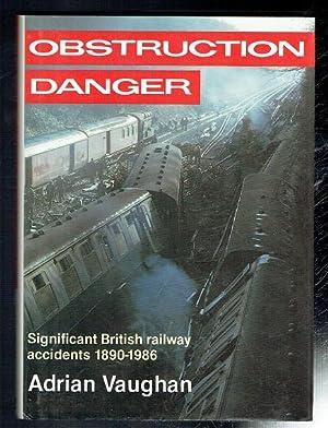 adrian vaughan - obstruction danger - AbeBooks
