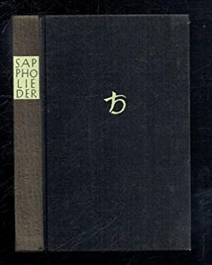 Sappho Lieder (Greek German text): Sappho; Treu, Max