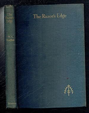 The Razor's Edge. A Novel. 1st Edition: Maugham, W Somerset