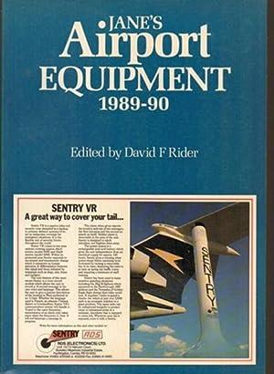 Jane's Airport Equipment 1989-90: Rider, David