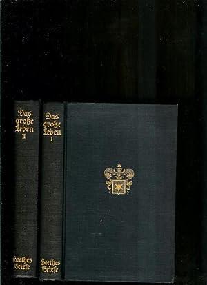 Das Grosse Leben 2 volumes: Goethe, J