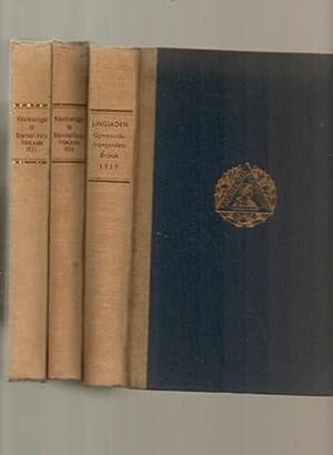 Lingiaden Gymnastikfrämjandets Arsbok 1937, 1938 & 1939: Holmstrom, Agne
