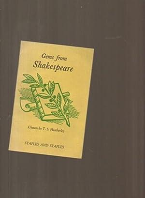 Gems from Shakespeare: Shakespeare, W; Heatherley,