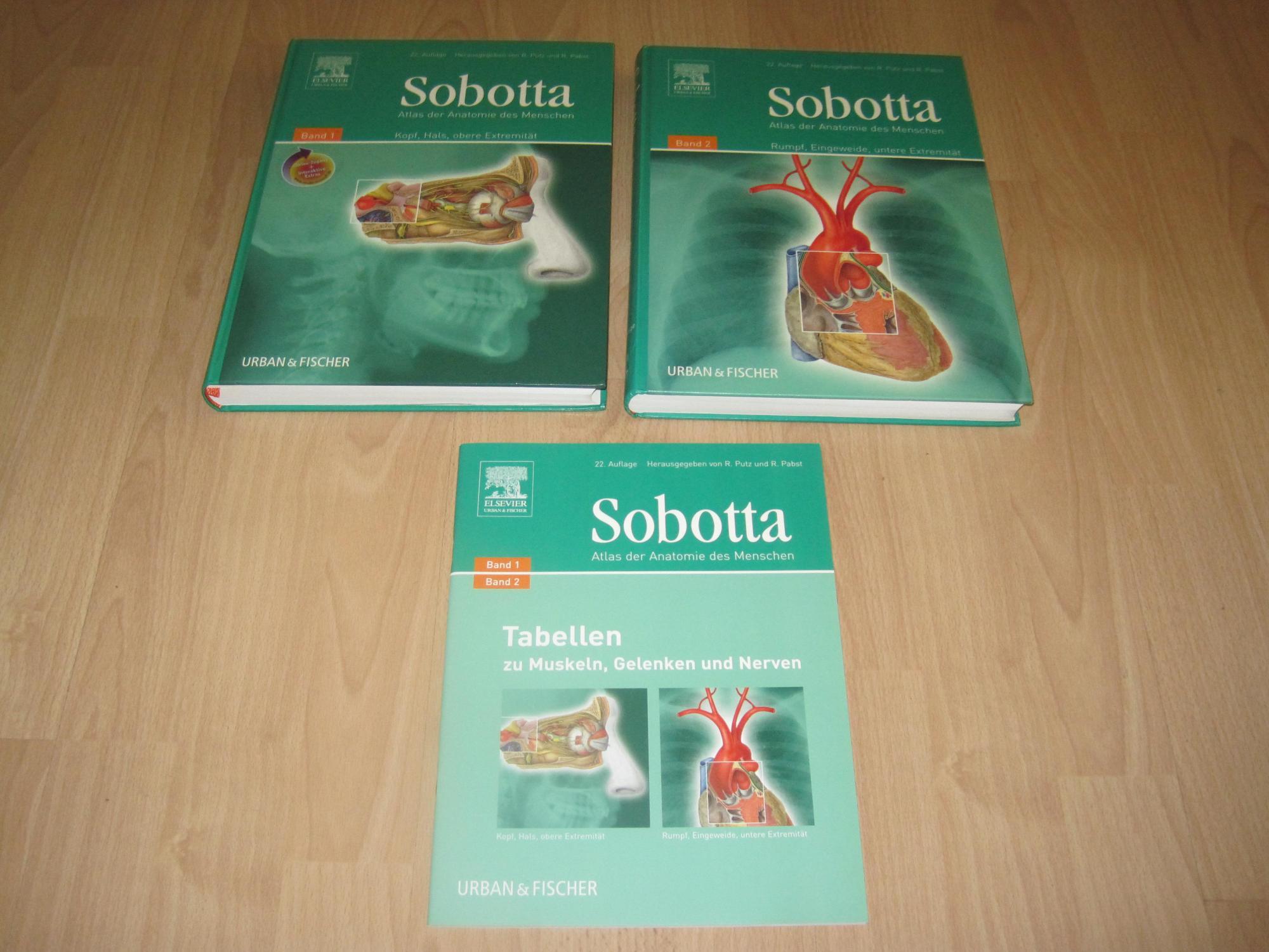 sobotta atlas der anatomie von sobotta - ZVAB