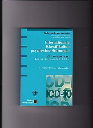 Dilling, Internationale Klassifikation psychischer Störungen ICD-10 Kapitel: Dilling, Horst (Herausgeber):